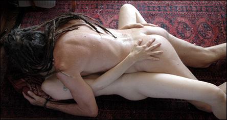 Sex på golvet