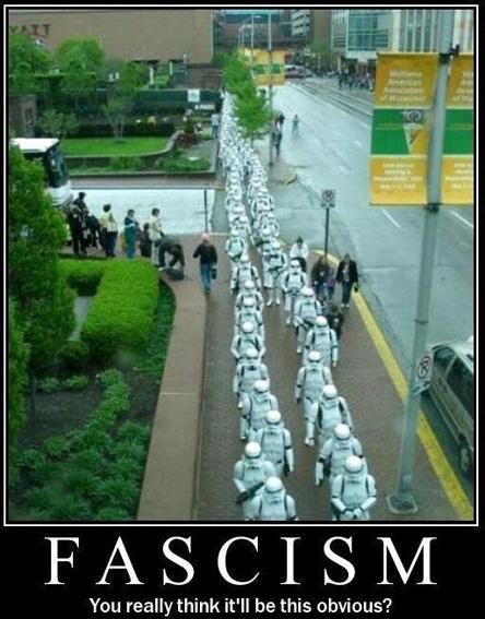 fascismposter