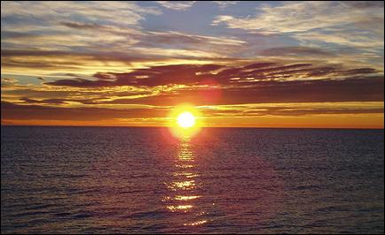Är solen på väg upp, eller är den på väg ned...?