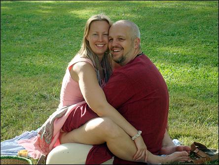Calle & Jennie på Skeppsuddens kursgård