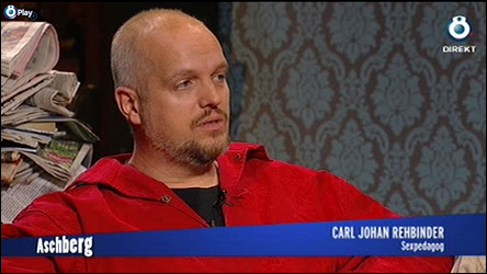 Calle hos Aschberg på TV 8