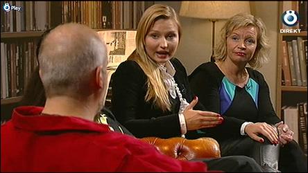 Calle hos Aschberg i TV 8