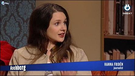 Hanna Fridén hos Aschberg på TV 8