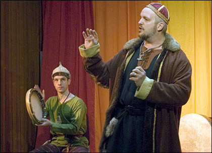 Carl Johan Rehbinder berättar fornnordiska myter på FABULA Storytelling Festival 2006
