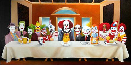 Nattvarden - clownversionen