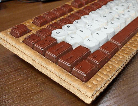 Ätbart tangentbord