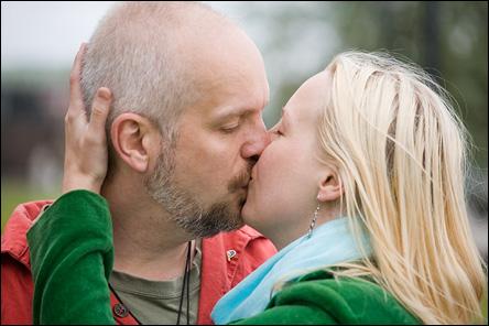 Calle & Jennie Rehbinder på Stadshuskajen