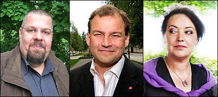 Erik Laakso, Thomas Hartman & Camilla Lindberg