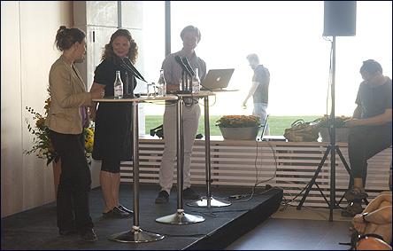 Diskussion mellan Maria Wetterstrand och Johan Norberg