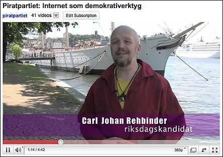 Kampanjfilm för Piratpartiet