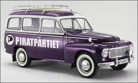 Piratdekorerad Volvo Duett