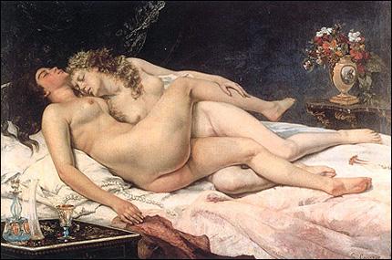 Sovande par - Courbet