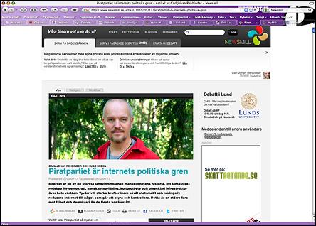 Min artikel i Newsmill