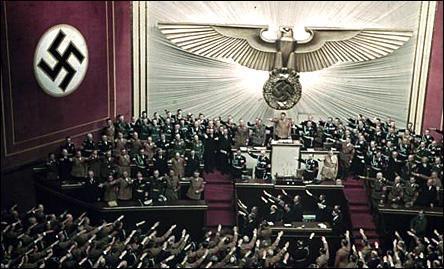 Nazister i tyska riksdagen