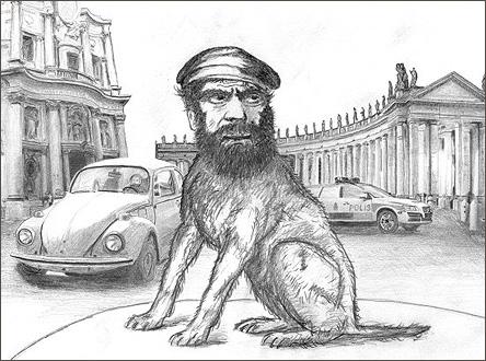 Rondellhund av Lars Vilks
