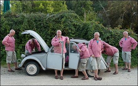 Åtta gånger Calle och en Citroën 2cv