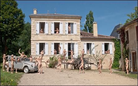 26 gånger Jennie, vid Chateau Garreau i Cadillac