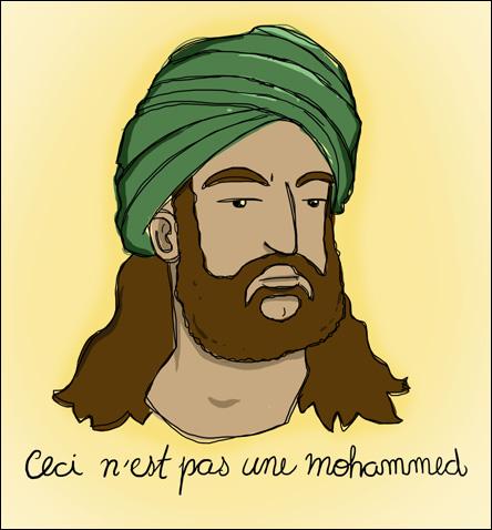 Ceci n'est pas une Mohammed
