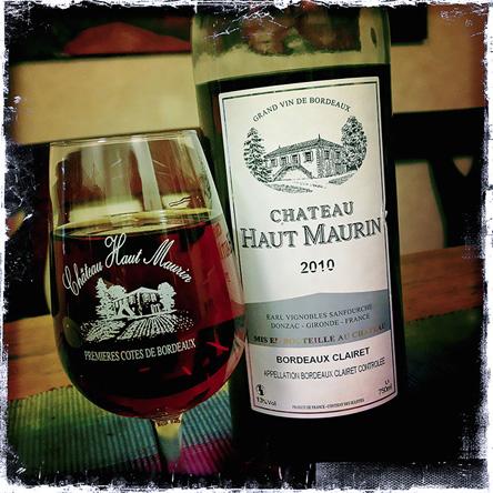 Bordeaux Clairet från Haut Maurin