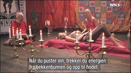 Tantrisk andning på norsk TV