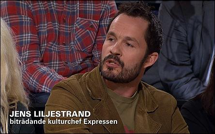 Jens Liljestrand på SvT Debatt
