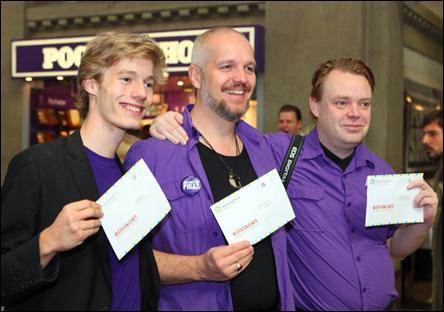 Valdagen 2010, med Caspian och Rick