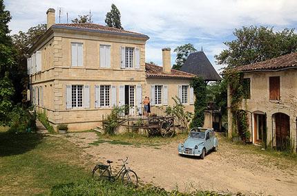 Chateau Garreau - platsen för våra lyxigaste livsnjutarkurser för par