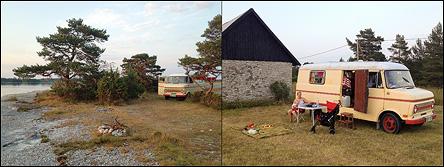 Hippiesemester på Gotland
