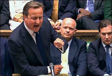 Debatt i brittiska parlamentet